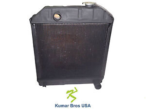 New Ford Tractor C7nn8005n Radiator 3910 4110 420 445 4610 515 530a 531 532 540a