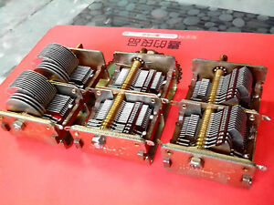 Quadruple Air Dielectric Variable Capacitor 350 2 26 2 Good Performance j599 Lx