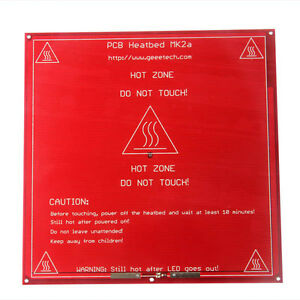 Geeetech Reprap 3d Printer Pcb Heatbed Mk2a Heated Heat Bed For Prusa Mendel