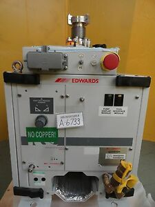 Iqdp40 Edwards A532 40 905 Dry Vacuum Pump 61878 Hour Used Tested Working