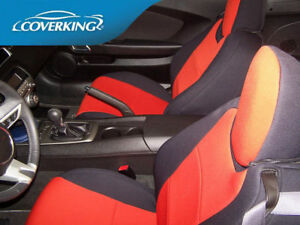 Chevy Camaro 5 Genuine Neoprene Front Rear Coverking Custom Fit Seat Covers