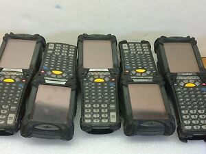 Lot Of 5 Symbol Mc9060 kh0hbeea4ww Scanners Used As is Untested