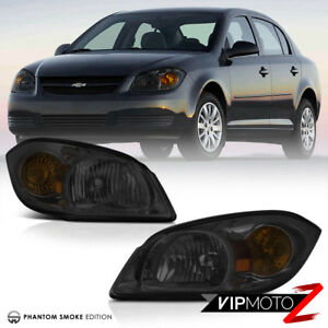 Smoked 2005 2010 Chevrolet Cobalt Ss Sleeper Replacement Headlights Left Right