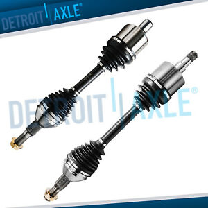 2 Front Cv Axle Shaft Assembly 2000 2009 Chevy Impala W o Supercharged W o Ss