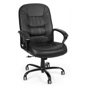 Ofm Big Tall Leather Chair