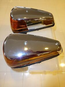 Vw Bug Front Turn Signal Pair 1970 1979 Vw Super Beetle Front Turn Signals