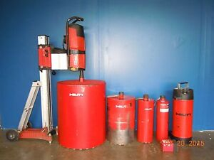 Hilti Dd500 Diamond Coring Core Bore Drill Rig Set 24 Drilling Max 200 350