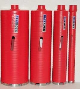 Dry Type 1 4 Set Diamond Coring Bit Concrete Core Drill By Bluerock Tools