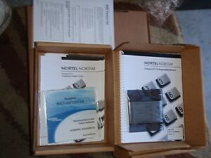 Norstar Compact Ics Cics Sip 7 0 Fc Software In Box With Documentation