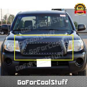 For Toyota Tacoma 2005 2010 Steel Black Mesh Grille Grill Insert