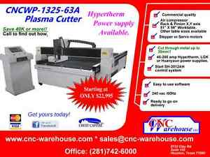 Cnc Warehouse professional Plasma Cutter Model Cncwp 1325 63a