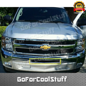 For Chevy Chevrolet Silverado 1500 2007 13 Air Dam Bumper Billet Grill Insert