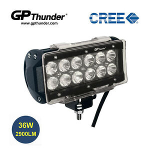 6 5 Inch Off Road 36w Cree Led Fog Lamp Work Light Bar Suv Jeep Drl Cover Flood