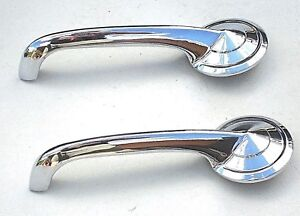 1951 51 Ford Car Inside Chrome Door Pull Handle New