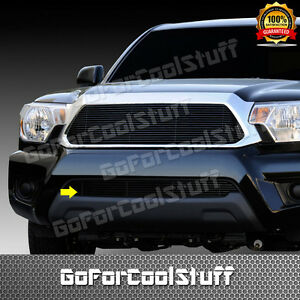 For 2012 2013 Toyota Tacoma 1pc Bumper Black Billet Grille Grill Insert