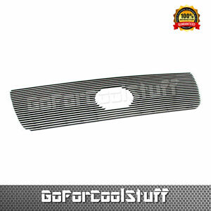For 2007 2008 2009 Toyota Tundra 1pc Upper W Logo Cutout Billet Grille Insert