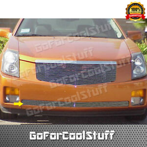 For 2003 2004 2005 2006 2007 Cadillac Cts Bumper 1pc Billet Grille Grill Insert