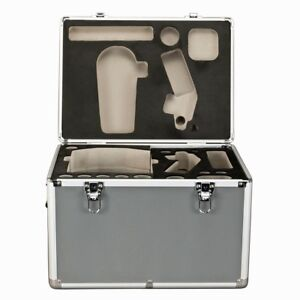 Omax Heavy Duty Aluminum Carrying Case For Compound Microscope W Protection Foam