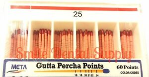 Gutta Percha Points 06 25 5x Of 60 pk 5x Bulk 300 Total Pieces