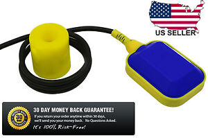 Float Switch Automatic Water Or Liquid Level Sensor Sump Tank No nc Controller