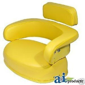 3 Piece Yellow Seat Cushion Set John Deere 3010 4020 4320 4520 5020 7520 bh