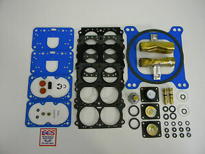 Holley Qft Aed Ccs 4150 Quick Kit Double Pumper Carb 600 650 700 750 850 W Float