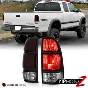 smoke Red For 2000 2004 Toyota Tundra Sr5 Limited Base Brake Signal Tail Light