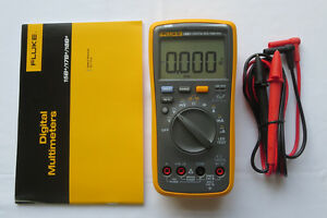 Fluke Digital Multimeter F18b Led Tester 18b Voltmeter Replace F18b Usa Seller