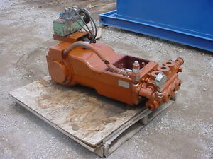 Used Kerr Bronco Model Kb 3500 Triplex Plunger Pump