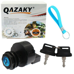 Ignition Key Switch For Polaris ATV Sportsman 500 HO 2005 2006 Free Keychain NEW