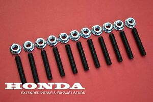 J05 Integra Rsx Honda S200 Civic Extended Intake Exhaust Manifold Stud Bolt Kit