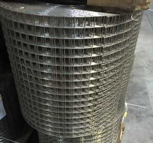 Stainless Steel 1x1 12 5g 17 x100 Welded Wire Mesh Rolls