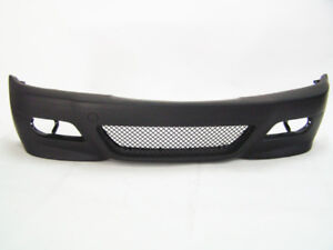 Bmw 00 06 E46 M3 Front Bumper Coupe Convert W Glass Fog Lamps Oem Fog Cover