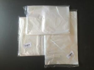 1 25 100 200 500 1000 18 x20 Prem 1mil Open Clear Flat Lldpe Plastic Poly Bags