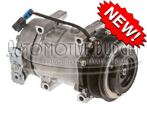 A c Compressor W clutch For Sanden 4080 4377 New