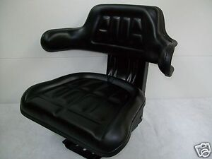 Universal Tractor Seat With Full Suspension For Mowers lawn Garden Tractor ao