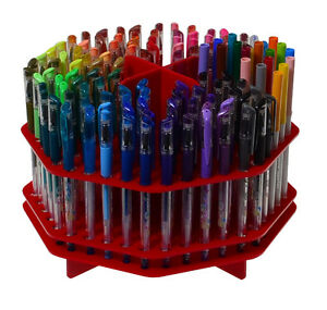 Red 120 Slot Pen sharpie Marker Pencil Lip Eye Liner Paint Makeup Brush