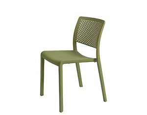 Restaurant Chair Resol Trama Olive Green made In Spain