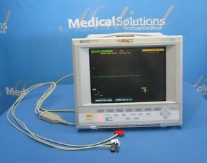 Hewlett Packard Hp M1276a Viridia 24c Color Patient Monitor Works Kp D2 1