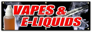 72 Vapes E liquids Banner Sign Bongs Rolling Papers E Cigs Weed Smoke