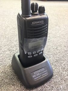 New Kenwood Tk 3312 Uhf Handheld Two way Radio Transceiver 450 520 Mhz