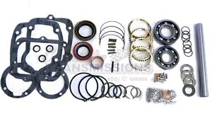 Muncie M21 4 Speed Transmission 66 74 Deluxe Rebuild Kit M20 M22 New Bk116ws