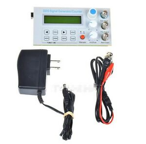 10mhz Dds Function Signal Generator Sine square Wave Sweep Frequency Meter Ttl