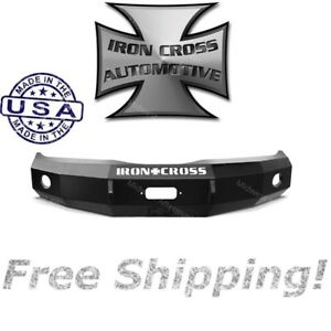 Iron Cross Hd Base Front Bumper 1997 2002 Dodge Ram 2500 3500