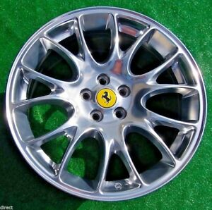 Genuine Oem Factory Ferrari 612 Scaglietti Challenge Polished 20 Inch Rear Wheel