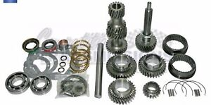 Muncie M22 4 Sp Gear Set Rebuild Kit Sliders Cluster Pin 10 Spline 2 20 Ratio