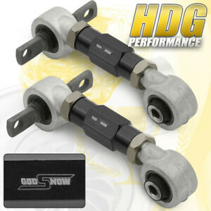 Acura Integra Honda Civic Del Sol Heavy Duty Adjustable Rear Camber Kit Black