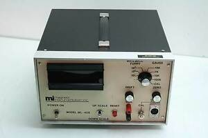 Mag Lab Magnetic Instrumentation Ml40d Bench Electronic Gauss Meter 0 100k Range