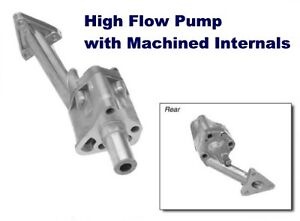 Brand New Mgb Oil Pump For 5 Main Bearing Engine 1965 80 High Flow Performance