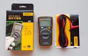 Usa Ship Fluke 101 Portable handheld Digital Multimeter F101 Mini Meter